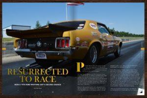 Motor Market Magazine features Carly Jo Ellingson  - Oahe